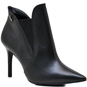 Bota Ankle Boot - Napa Preta - ST 80528