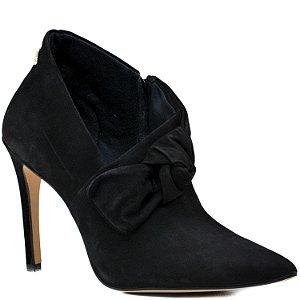 Bota Ankle Boot - Nobuck Preto - KI 36408