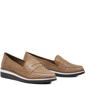 Sapato Cara de Gato - Cobra Camel - GIU 20543