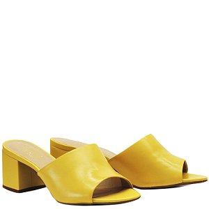 Tamanco Salto Grosso Medio -  Amarelo - GIU 46636