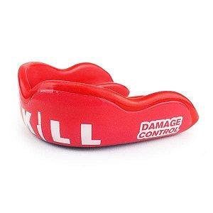 Protetor Bucal Damage Control - Modelo KILLER RED