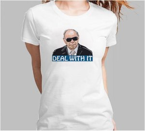 Camiseta Ustra Deal With IT  (Super Econômica!!!)
