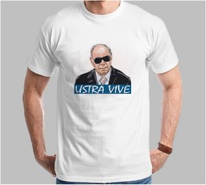 Camiseta Ustra Vive (Super Econômica!!!)