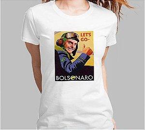 Camiseta Let´s Go Bolsonaro (Super Econômica!!!)