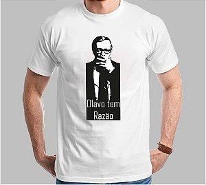 Camiseta Olavo tem Razão Clássico (Super Econômica!!!)