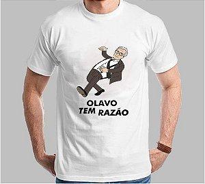 Camiseta Olavo tem Razão Descolado (Super Econômica!!!)