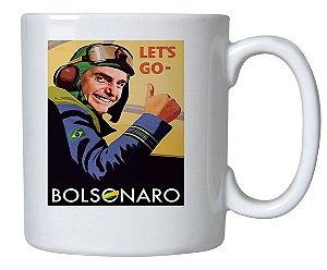 Caneca Lets Go Bolsonaro