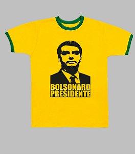 Camiseta do Brasil Bolsonaro Presidente
