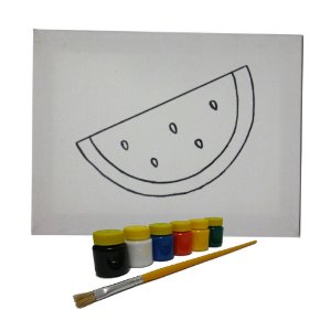 Kit Pintura Melancia MLP03 - Mundo Ludico