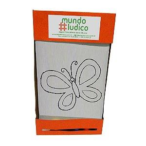 Kit Pintura Borboleta MLP08 - Mundo Ludico