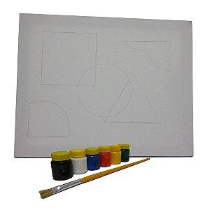 Kit Pintura Avançado Geometria Intersectiva MLPA3002 - Mundo Ludico