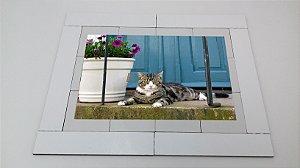 Quebra cabeça Sênior Gato 12 pçs Mundo Lúdico
