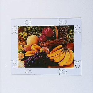 Quebra cabeça Sênior Frutas 12 pçs Mundo Lúdico