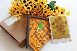 Kit Os Girassóis de Van Gogh - Faça Memórias Em Casa MLFM01