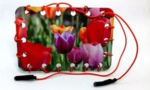 Olhe e Enlace Sênior Flores MLS53 Mundo Lúdico