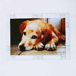 Quebra cabeça Sênior Cão Amável 24 pçs Mundo Lúdico