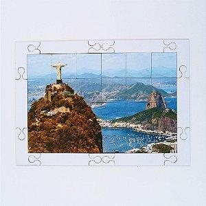 Quebra Cabeça Sênior Cidade Maravlhosa RJ 24 pçs Mundo Lúdico