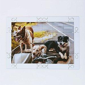 Quebra cabeça Sênior Cães Velhos Amigos 24 pçs Mundo Lúdico