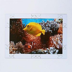 Quebra cabeça Sênior Peixes e Anêmonas 24 pçs Mundo Lúdico