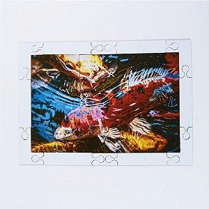Quebra cabeça Sênior Peixes Carpa 24 pçs Mundo Lúdico