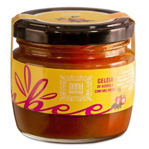 Geleia de Acerola e Gengibre - Dona Doceria com Mel MBee (150g)
