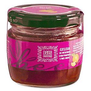 Geleia de Mexerica com Pimenta - Dona Doceria com Mel MBee (150g)