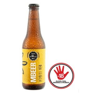 Cerveja MBeer 1º Edição - Uruçu Amarela 355ml