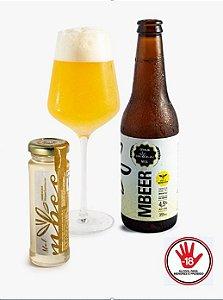 Cerveja MBeer 2º Edição - Wheat Ale Mandaçaia 355ml