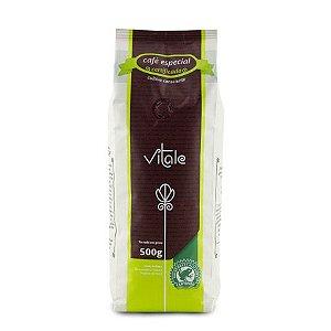 Vitale café torrado em grãos 500 gramas.