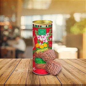 Biscoito Dona Doceira de Chocolate, Laranjinha Kinkan e Baru
