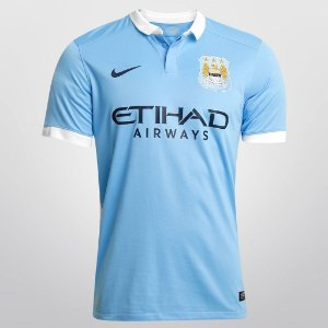 CAMISA NIKE MANCHESTER CITY HOME 15/16 S/Nº