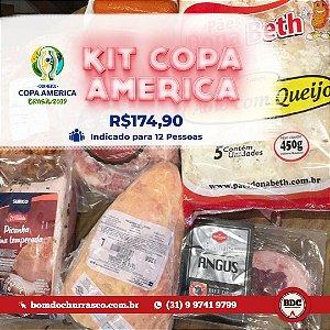 KIT COPA AMÉRICA - 12 PESSOAS