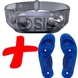 Pulseira Magnética SIL+ Palmilha Magnetica Para Dores
