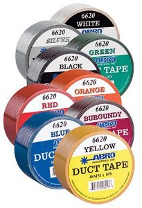 ABRO DUCT TAPE COLORS 9,14m