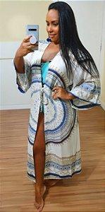 Kimono Dress to Estampa Maralto