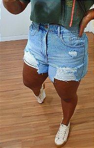 Short Dress to Denim Destroyed Jeans