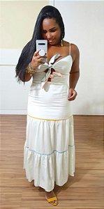 Vestido Dress to Midi Pontos de Cor