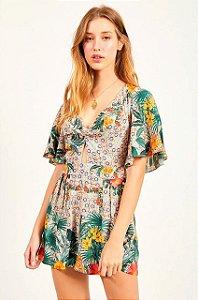 Macaquinho Dress to Estampa Alzahra -  Exclusivo de multimarca