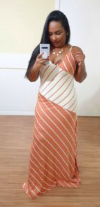 Vestido Dress to Mix Listras