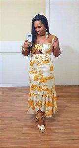 Vestido Dress to Estampa Saara - Exclusivo de multimarca