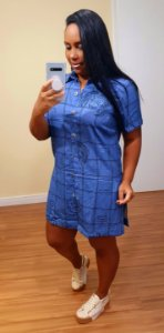 Camisa Dress to Estampa Água - Signos Escorpião, Peixes e Câncer