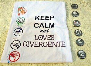 Camiseta - Divergente