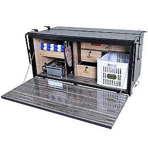 Caixa de Cozinha Caminhão Caibi Linha de Luxo 125 x 59 x 62