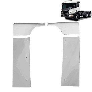 Defletor de ar  Cegonheiro Scania S4 e S5 Cabine P Com Filtro