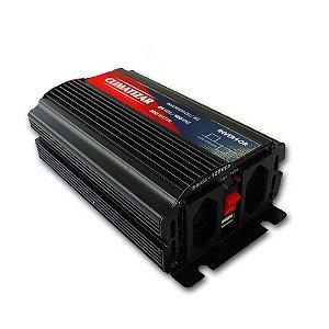 Inversor de Voltagem 24V para 110V 600W Caminhão