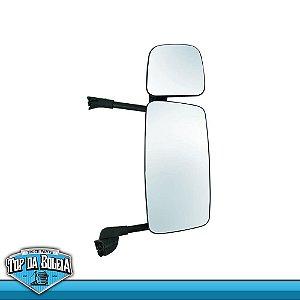 Espelho Completo S5 Economico Lado Direito com Auxilar e com Desembaçador