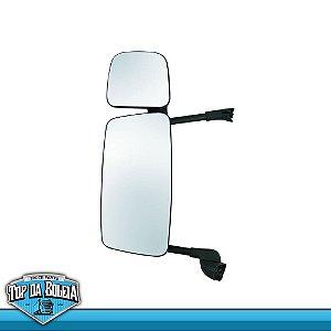 Espelho Completo S5 Economico Lado Esquerdo com Auxilar e com Desembaçador