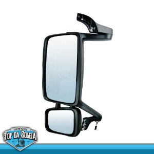 Espelho Completo Volvo FH 2010 Lado Esquerdo com Desembaçador