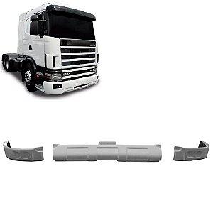 Spoiler Bigodinho Para-Choque Scania  S4 TriPartido