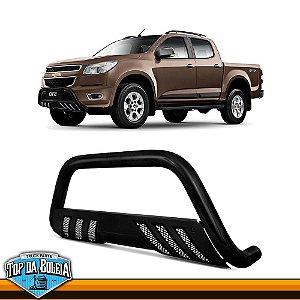 Quebra Mato Universal Com Grade Preto para Caminhonete Chevrolet S-10 à Partir de 2012